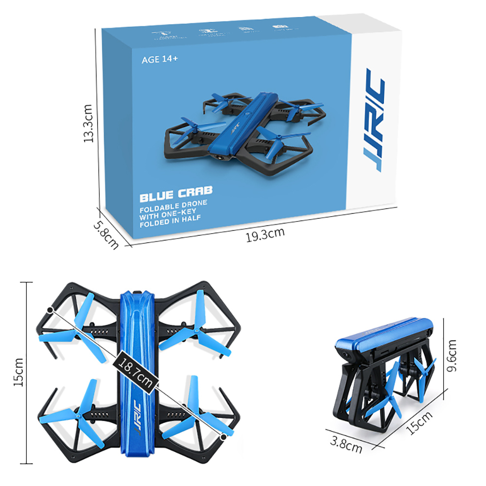JJRC H43WH Foldable drone with HD Camera and G-sensor Remote Control aerobatic quadcopter dron quad copter FOLDING TOYS
