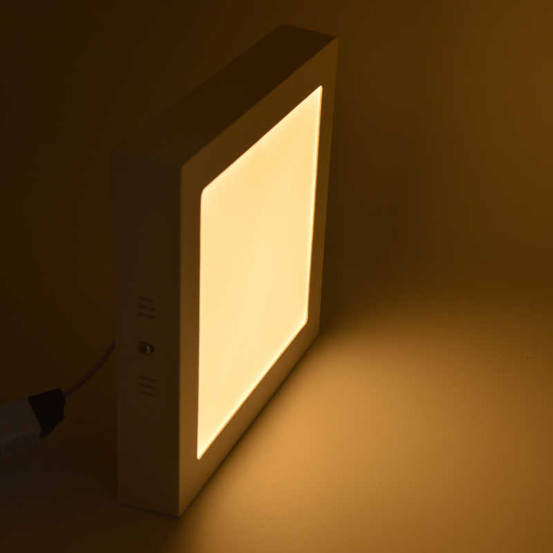 6Вт/12Вт/18Вт/24Вт/ Супер Яркая Квадратная Светодиодная Поверхность, Яркость не Регулируется, Подвесная Лампочка для ванной комнаты, освещение ванной