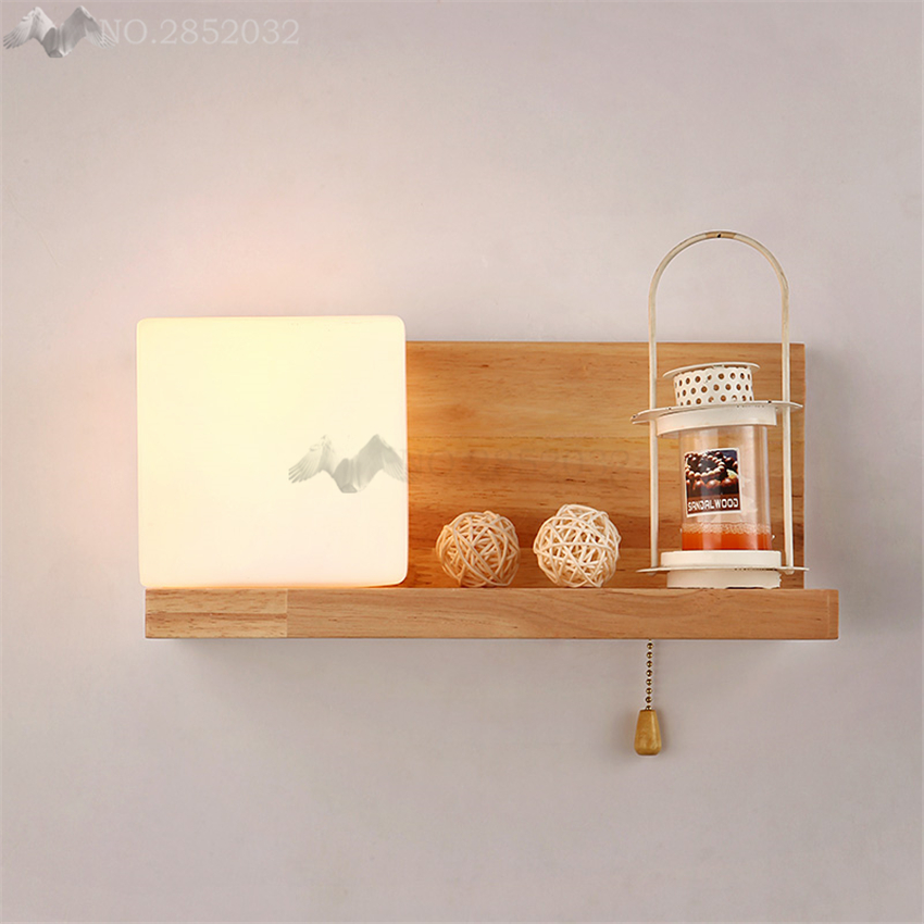 Fashion Modern Northern Wood LED Wall Light Lamps Europe Style Home Lighting bed light,Wall Sconce Arandela Lamparas De ParedFashion Modern Northern Wood LED Wall Light Lamps Europe Style Home Lighting bed light,Wall Sconce Arandela Lamparas De Pared