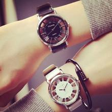 Relogio feminino 2016 Nouvelles femmes de mode vintage montre, feuille de laiton notes de musique horloge femmes bracelet en cuir quartz montres femmes