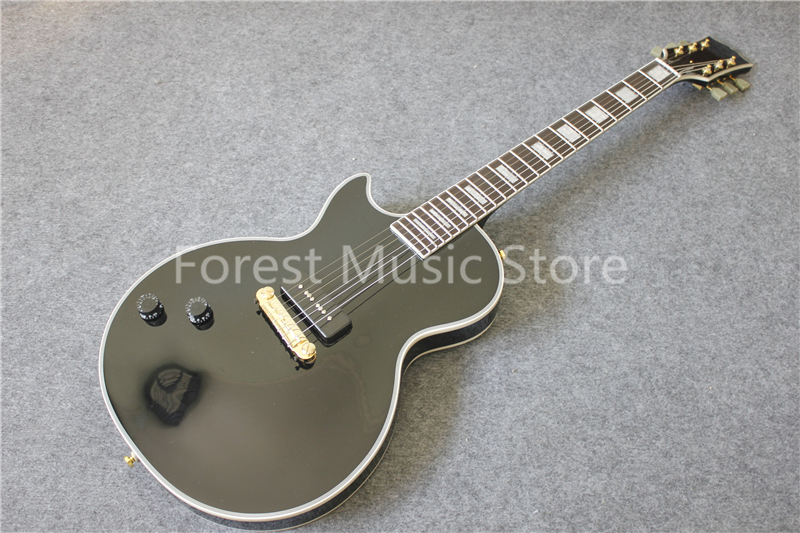 Hot Selling Chinese Left Handed Beautiful Flame LP Custom Electric Guitar With Rosewood Fretboard For Sale hot selling chinese black lp custom electric guitar mahogany guitar body & kit custom available in stock