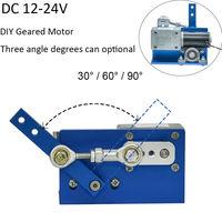 24V 12V DC Motor For DIY Design 30 60 90 Degress Automatic Wobble Handmade Assembly Reciprocating Electric DIY Motor Constructor