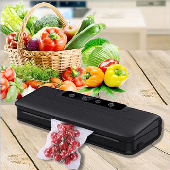 220V/110V Household Food Vacuum Sealer Packaging Machine Film Sealer Vacuum Packer Including 15Pcs Vacuum Bags