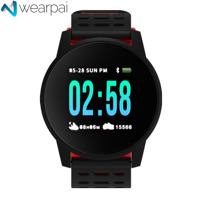 Wearpai W1 Bluetooth Smart Watch men and women passometer call/message reminder Smartwatch for Android IOS  waterproof ip67