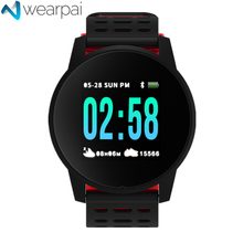 Wearpai W1 Bluetooth Smart Watch men and women passometer call/message reminder Smartwatch for Android and IOS  waterproof ip67 цена