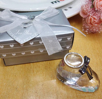 Lovely Crystal Shoe Favors And Gifts For Baby Shower Party Giveaways For Guest
