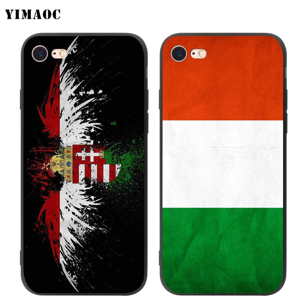 Мягкий силиконовый чехол YIMAOC для iPhone 11 Pro XS Max XR X 8 7 6 6S Plus 5 5S se