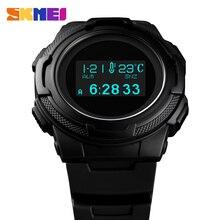 Mannen Sport Digitale Horloge Waterdicht Calorie Stappenteller Sport Horloges Luxe Kompas Thermometer Elektronische Horloges Voor Man