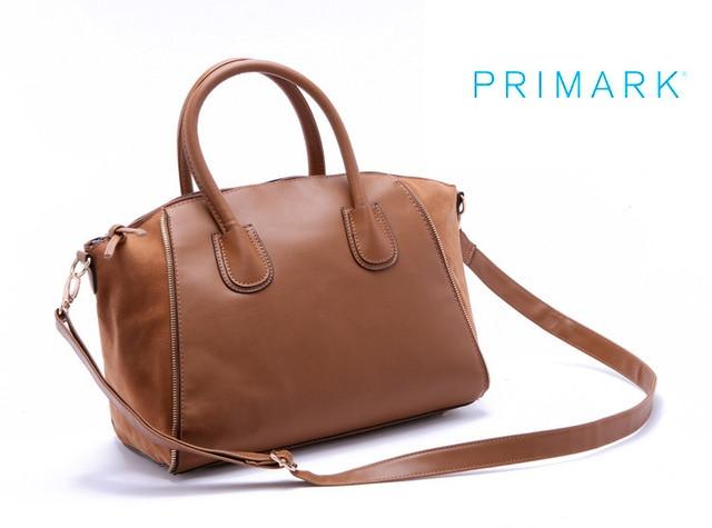 Primark Women S Bags Pu Leather Gigi Sca Effet Cuir Double Forme Minimalist Shoulder Bag Handbags Messenger