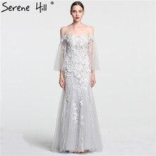 SERENE HILL Sexy White Mermaid Wedding Dress Sleeveless