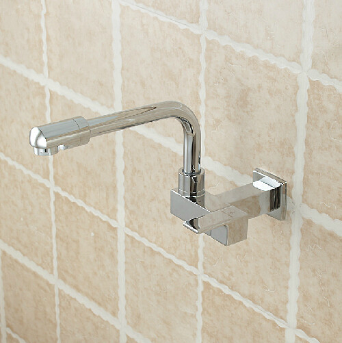 Free shipping single cold wall tap basin sink wall mounted faucet cold faucet Water Tap Single Cold Basin Faucet Bathroom Faucet new deck mounted cold automatic sensor hands faucet chromed free bathroom sink tap cold only sensor faucet chrome for bathroom