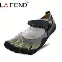 2017 LAFEND China Marke Design Gummi mit Fünf Finger Outdoor Rutschfeste Atmungs Leichte Mountaineer Schuhe für Männer