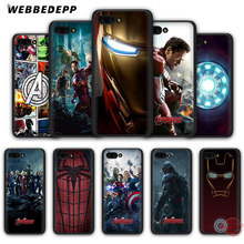 WEBBEDEPP Marvel Comics is The Avengers Soft Case for Honor 20 10 9 9X 8 Lite 8C 8X 7X 7C 7A 3GB 6A Pro View 20(China)
