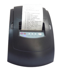 GP-5860III Wholesale Top quality 58mm thermal receipt printer machine printing pace 90mm / s