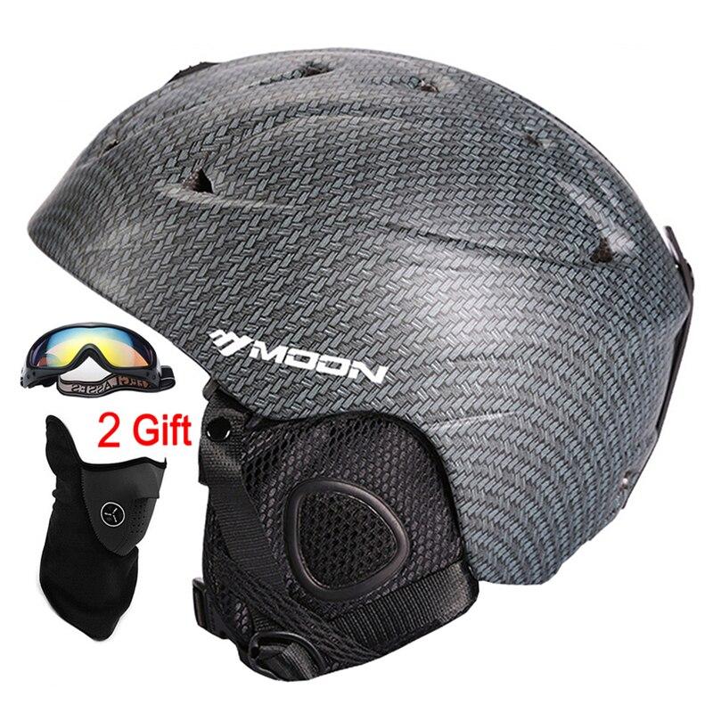 MOND Ski Helm Ultraleicht CE Zertifizierung Integral geformten Atmungs Skateboard Ski Snowboard Helm Größe S/M/L /XL