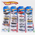 Hotwheels toy cars random 4 pieces metal mini scale model cars hot wheels track oyuncak araba car kids toys Christmas gift