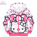 Retail,1pcs/1lot cartoon clothes,girls sweater sweater girls clothing hoodie free shipping