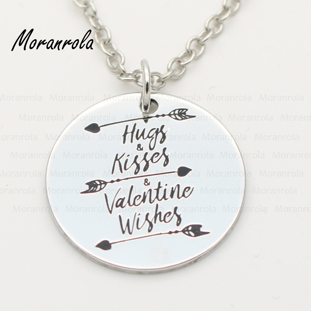 "New arried ""Hugs kisses valentine wishes ""Jewelry"