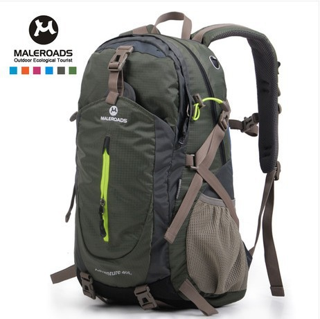 Online Shop Maleroads 40L Waterproof Travel Backpack Camp Hike ...