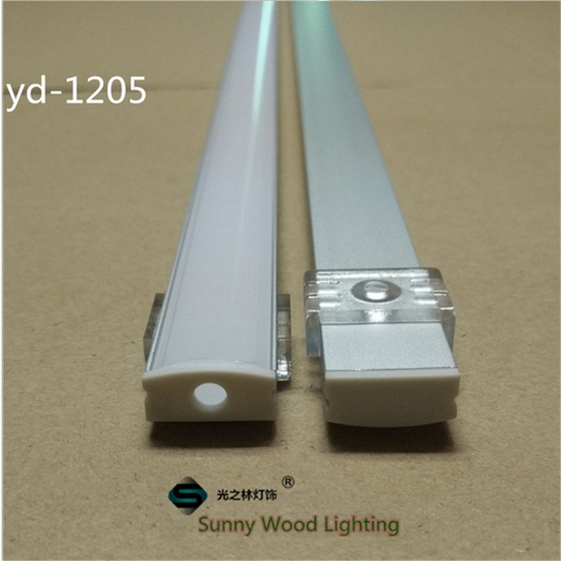 10set lot 12mm strip led aluminium profile for led bar. Black Bedroom Furniture Sets. Home Design Ideas