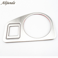 Stainless Steel Car Interior Headlight Switch Cover Decor Trim For VW Volkswagen Golf Mk7 2013 2014