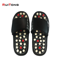 Foot Massage Slippers Magnetic Therapy Rotating Acupuncture Foot Relax Tool Healthy Sandal Reflex Massager Shoes Health