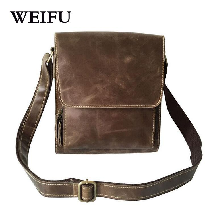 ФОТО Men's restoring ancient ways One shoulder aslant leather leisure men's bags The outermost layer of skin layer packets mobile pho