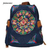 Women S Vintage Denim Satchel Backpack Multi Function Shoulder Bag Light Weight Jeans Cute Travel Tote