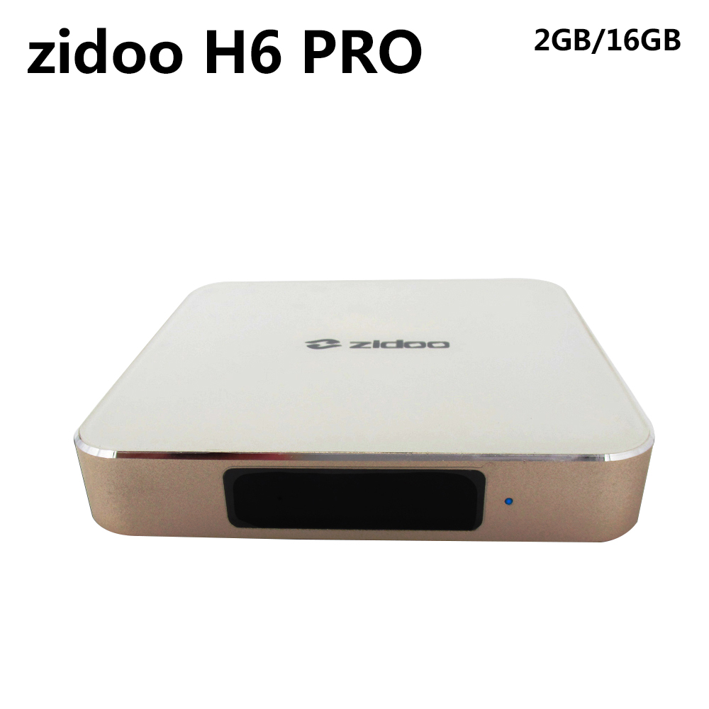 ZIDOO H6 PRO Android Nougat 4K 10Bit HDR TV Box Allwinner DDR4 2GB eMMC 16GB ac WIFI 1000M LAN Dolby Digital DTS-HD [genuine] zidoo x6 pro android 5 1 lollipop tv box rk3368 octa core 2gb 16gb 1000m lan dual wif bt4 0 4k 2k h 265 kd player 3d