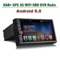 2GB RAM Quad Core Android 6 0 Head Unit Car GPS Navigation 2 Din Autoradio Car