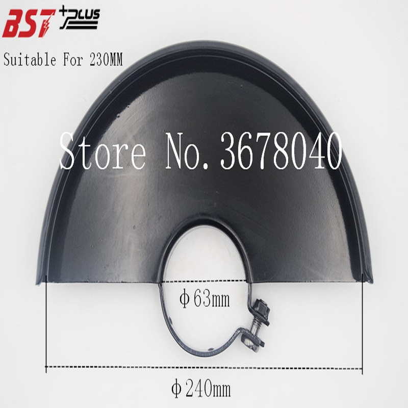 BLACK METAL WHEEL SAFETY GUARD PROTECTION COVER FOR 230MM ANGLE GRINDER