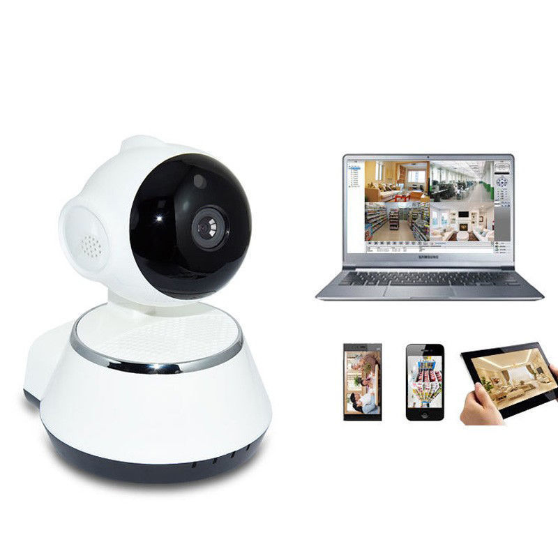 HD Wireless 720P Pan Tilt Network Home CCTV IP Camera IR Night Vision WiFi Webcam Support IOS Android