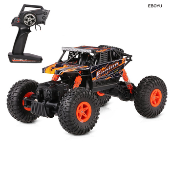 Wltoys 18428-B 1/18 2.4G 4WD Electric RTR Off-Road Rock Crawler Climbing RC Car Remote Control Buggy RTR