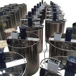 220 v/110 v In Acciaio inox A Sei-cornice miele elettrico estrattore telaio Ispessimento miele separatori di miele macchina di elaborazione macchina