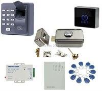 X6 Fingerprint Access Control RFID Keypad 125KHZ Electric Control Door Lock For 12V DC Access Control