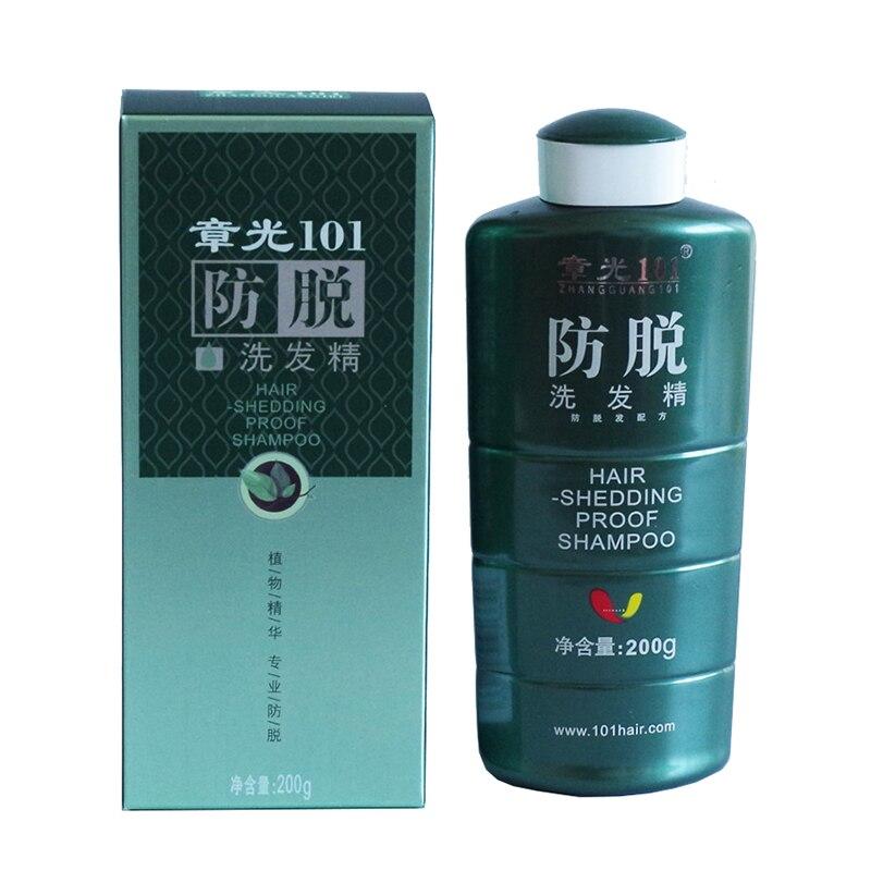 Free Shipping Zhangguang 101 Hair Shedding Proof Shampoo 200g Chinese Medicine Therapy Anti Hair Loss Hair