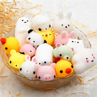 New Adorable Animal Squishies Mochi Squeeze Scented Stress Relief Toy the best birthday gift Soft Squishies 5.14