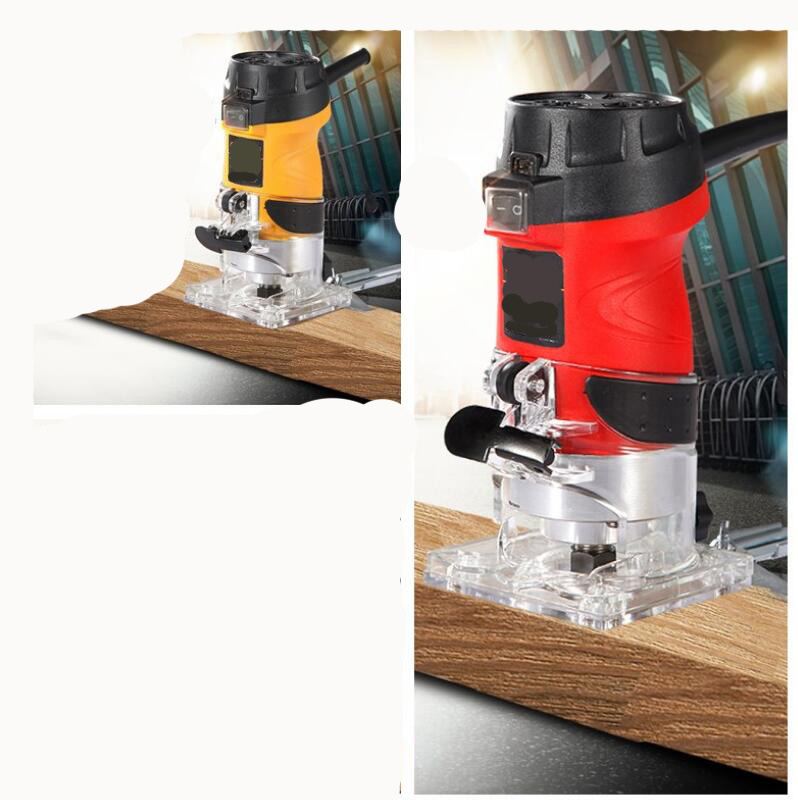 6mm 1/4'' Powerful Wood Trim Router 600W 220V 32000RPM ...