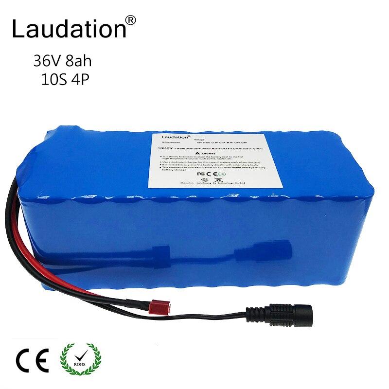 Batterie Rechargeable de la batterie au lithium 36 V 8ah 8000 mah 10 S 4 P 18650, changeant des bicyclettes, protection électrique de la voiture 36 V 42 V avec la carte PCB