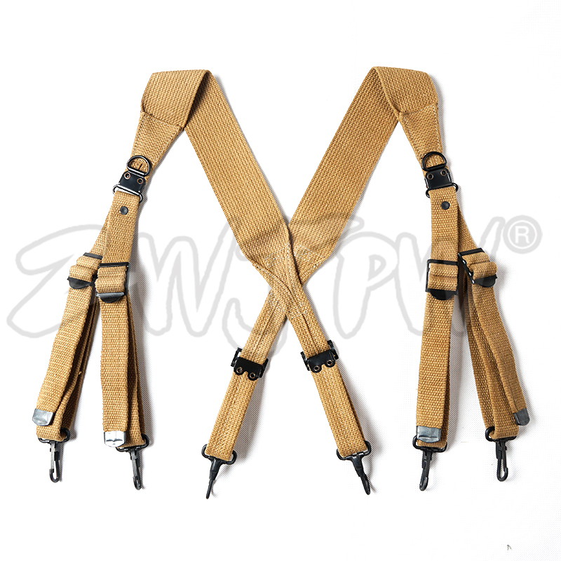 WWII WW2 US Army M1936 Military X-Type Suspender Strap Combat Field Equipment Belt Sling Airborne airborne pollen allergy