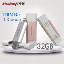 Maxchange USB Flash Drive 32GB Storage Flash Memory Pendrive OTG USB 3.0 U Disk Storage Device Memory Disk