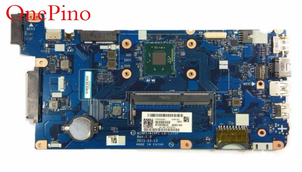 LA-C771P Laptop Motherboard for Lenovo Lenovo 100-15IBY Mainboard LA-C771P N2840 DDR3L full tested free shipping tested working hot for lenovo z500 laptop motherboard viwzi z2 la 9061p z500 2g video card with graphics card ev2a 100% tested