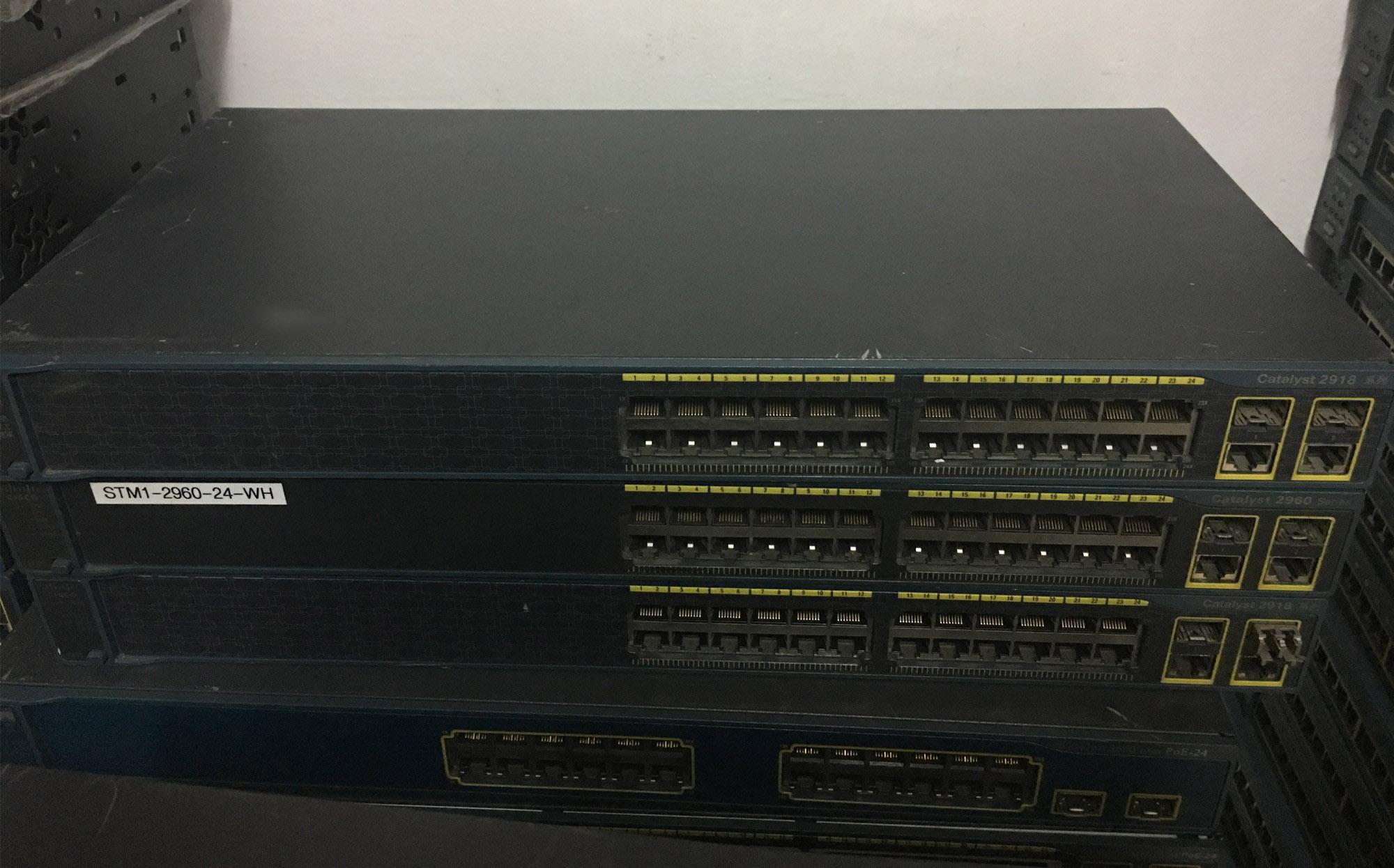 Used WS-C2918-24TC-C Layer 2 Switch