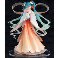 Funko pop Idol Hatsune Miku Mid autumn Cos Han Chinese clothing Fairy PVC Action Figure 1/8 Scale Model Painted Collection Toys