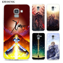 Transparent Soft Silicone Phone Case Fate Series Grand Anime For Samsung Galaxy j8 j7 j6 j5 j4 j3 Plus 2018 2017 Prime все цены