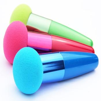 1 pcs Cream Foundation Make Up Cosmetic Makeup Brushes Liquid Sponge Brush Optional Color P0121