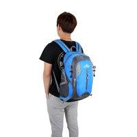 Outdoor Sport Backpack Waterproof Soft Nylon Durable Travel Rucksack 35L Backpacks High Capacity Shoulder Bag Drop