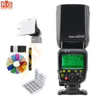 Shanny SN600EX RF 2 4G Wireless Radio HSS E TTL Slave Speedlite Flash For Canon 70D