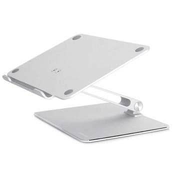notebook laptop stand with adjustable angle and free lift laptop heighten holder for all laptops