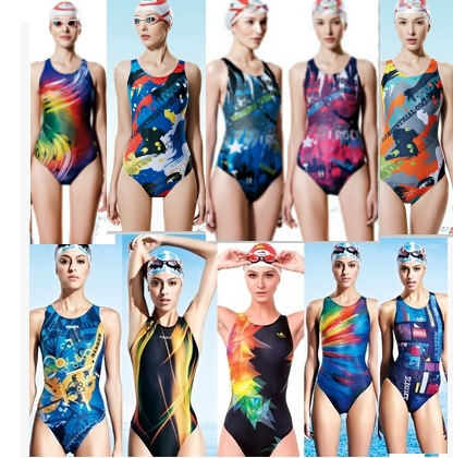 YINGFA One Piece Women Swimsuit Professional Swimwear Lady Bathing Suit Sports Racing Competition Tight Bodybuilding SwimWear phinikiss printed racing swimwear large size one piece suit professional swimsuit sport bathing suit competition 2016 triathlon